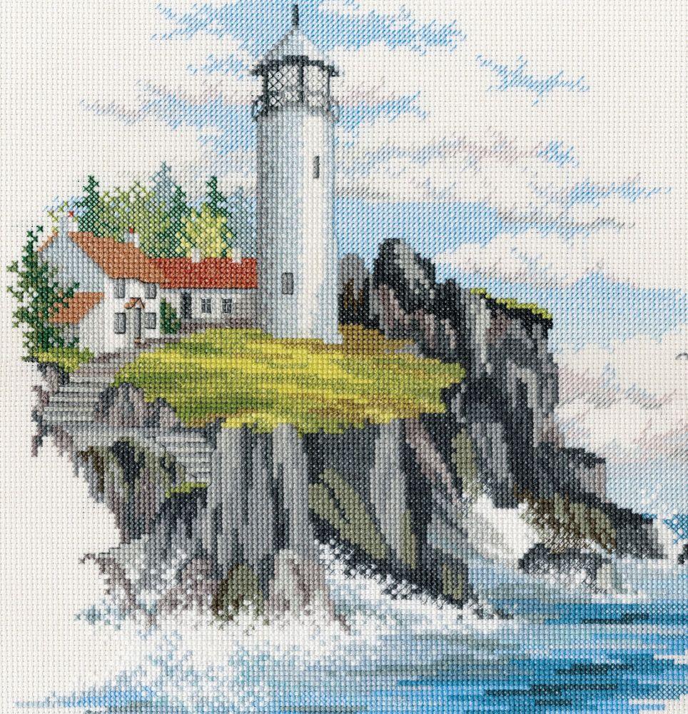 Derwentwater SEA05 embroidery coastal Britain - Storm point