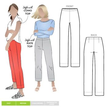 Style ARC mlpW060s Cheryl stretch pant 4-16