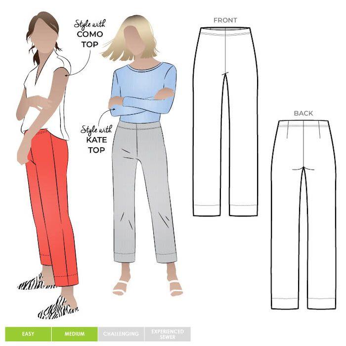 Style ARC mlpW060s Cheryl stretch pant 18-30