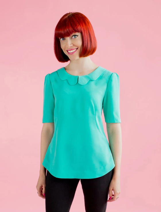 Tilly and the buttons sewing pattern 1009 Orla 6 - 20 shift top