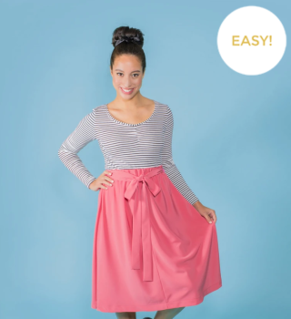Tilly and the buttons sewing pattern 1010 Dominique 6 - 20 skirt