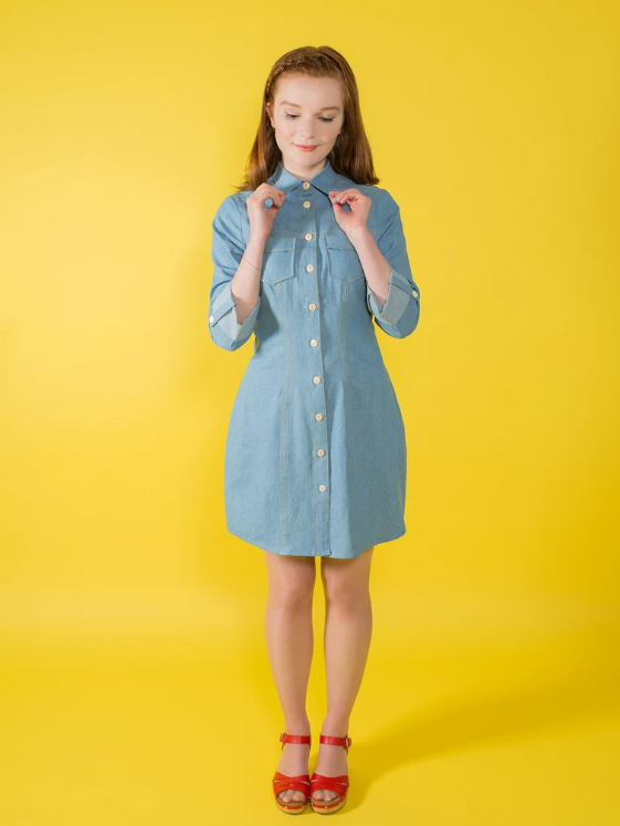 Tilly and the buttons sewing pattern 1013 Rosa 6 - 20 shirt and skirt dress