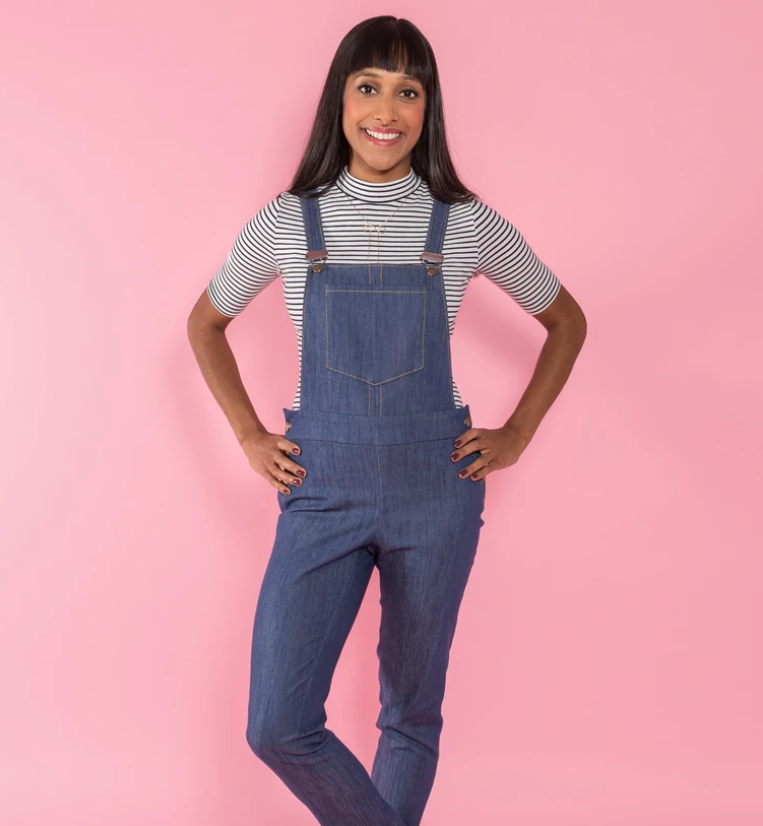 Tilly and the buttons sewing pattern 1019 Mila 6 - 20 dungarees