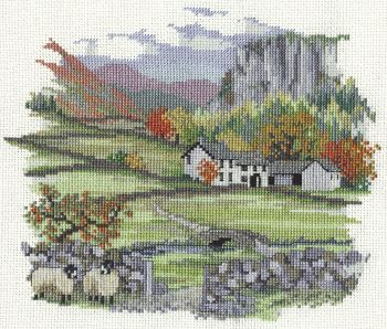 Derwent CON01 embroidery Countryside range cragside farm