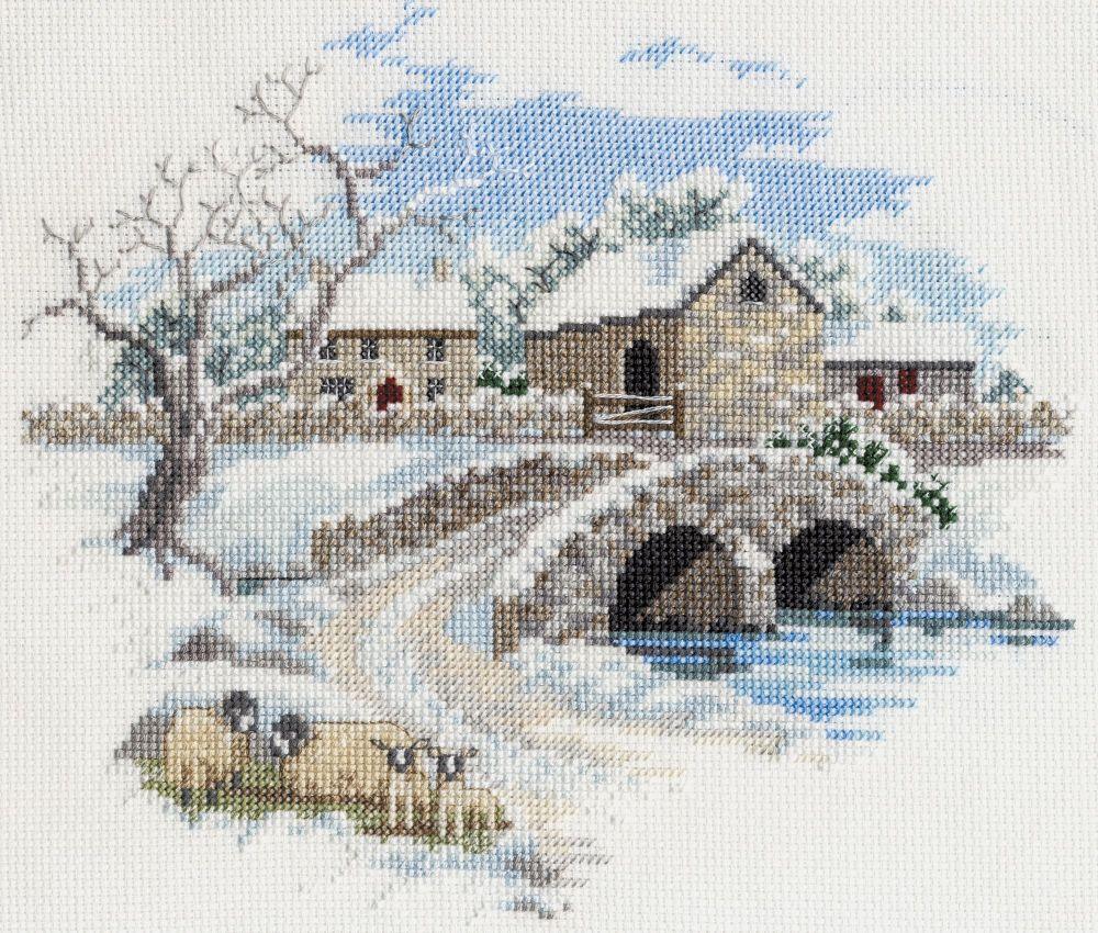 Derwent CON06 embroidery Countryside range Winterbourne farm