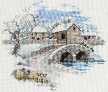 Derwent CON06 embroidery Countryside range Winterbourne farm