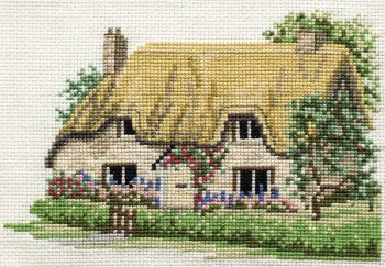 Derwent 14DD201 embroidery Dale designs range - Betty's cottage