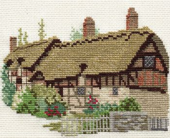 Derwent 14DD204 embroidery Dale designs range - Hatherway's cottage