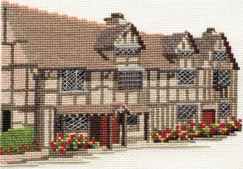Derwent 14DD212 embroidery Dale designs range - Shakespear's birthplace