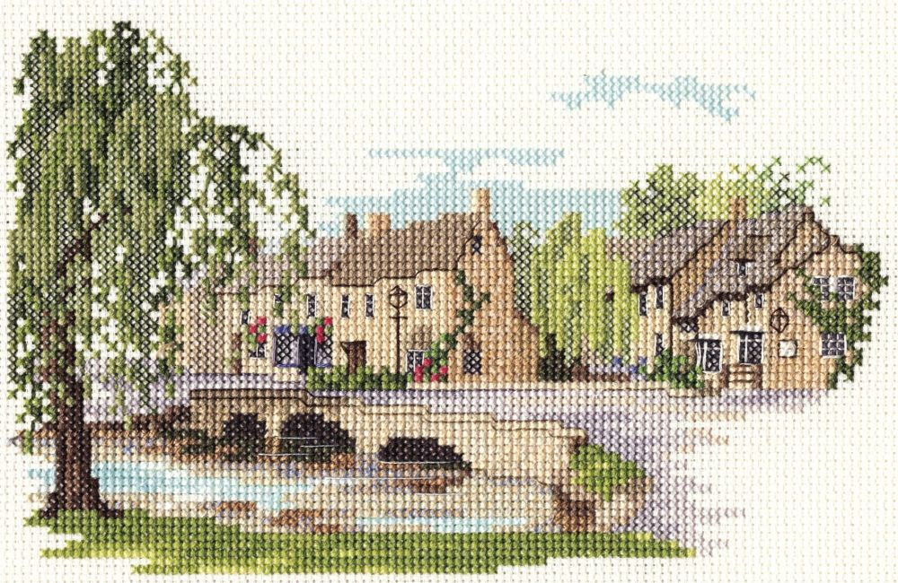 Derwent 14DD226 embroidery Dale designs range - Bourton on the water
