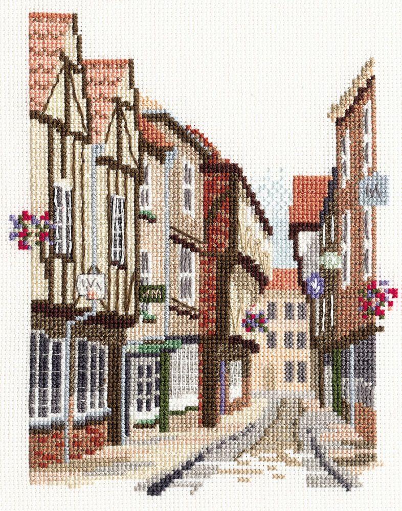 Derwent 14DD403 embroidery Dale designs range - The shambles