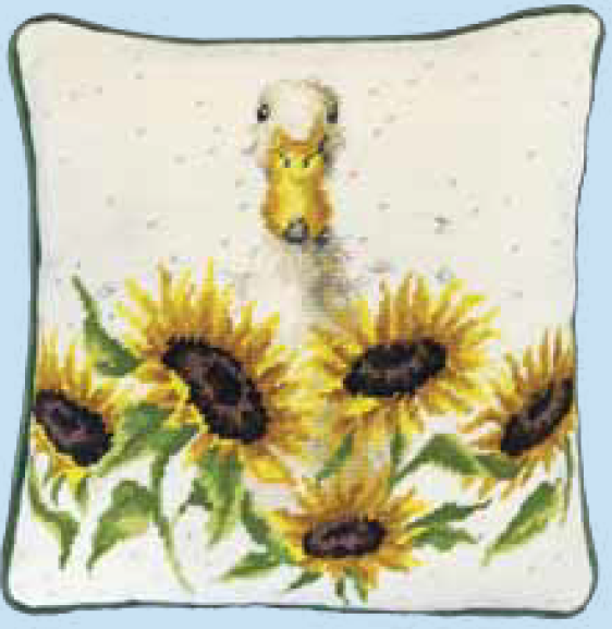 Bothy threads THD44 embroidery Tapestry range - Wrendale Design - Sunshine