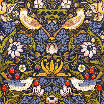 Bothy threads XAC03 embroidery counted cross stitch range - William Morris