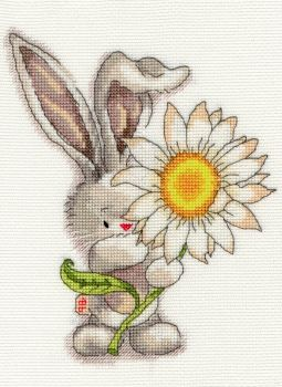 Bothy threads XBB01 embroidery counted cross stitch range - Bebunni - Daisy