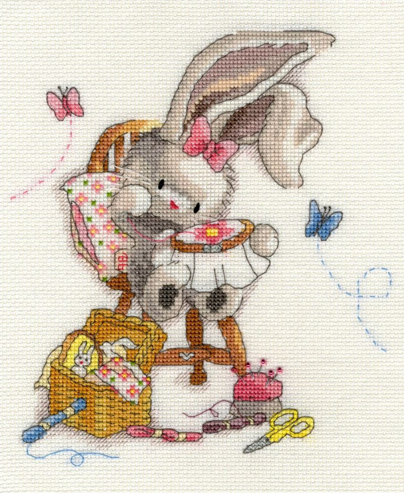 Bothy threads XBB02 embroidery counted cross stitch range - Bebunni - Sewn