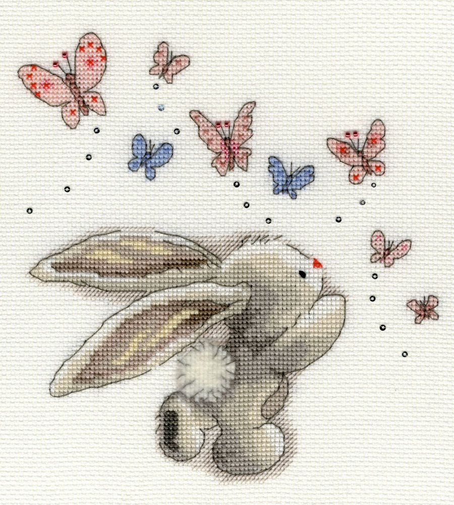 Bothy threads XBB03 embroidery counted cross stitch range - Bebunni - Butte