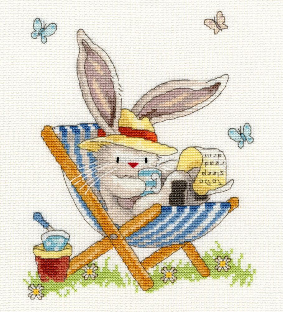 Bothy threads XBB10 embroidery counted cross stitch range - Bebunni - To Do