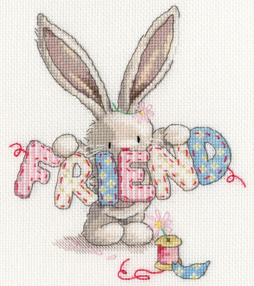Bothy threads XBB16 embroidery counted cross stitch range - Bebunni - Frien