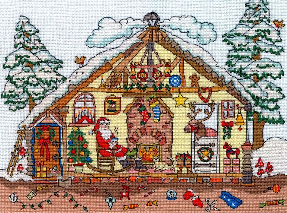Bothy threads XCT32 embroidery counted cross stitch range - Cut Thru' - Chr