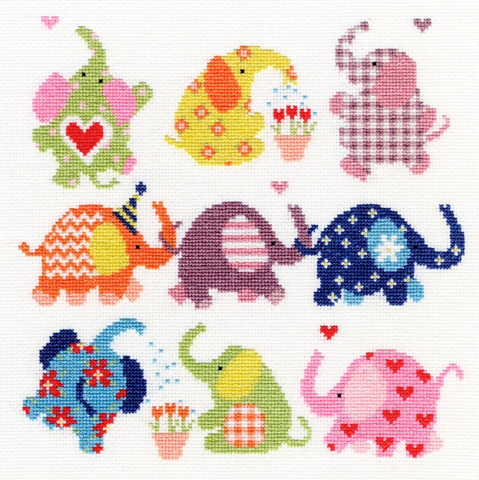 Bothy threads XEJ04 embroidery counted cross stitch range - Slightly Dotty