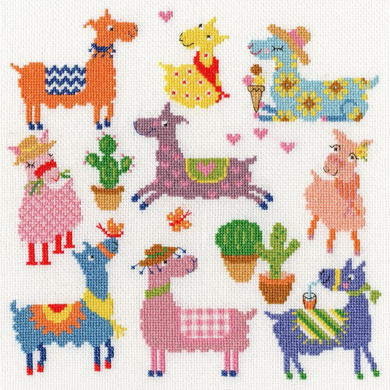 Bothy threads XEJ08 embroidery counted cross stitch range - Slightly Dotty