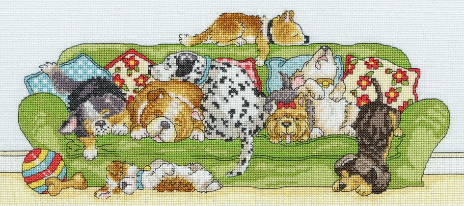 Bothy threads XGR02 embroidery counted cross stitch range - Bothy - Animals