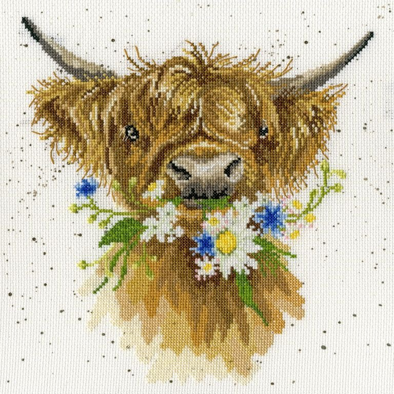 Bothy threads XHD42 embroidery counted cross stitch range - Wrensdale Desig