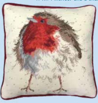 Bothy threads THD05 embroidery Tapestry range - Wrendale Design - Jolly Robin