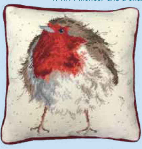 Bothy threads THD05 embroidery Tapestry range - Wrendale Design - Jolly Rob