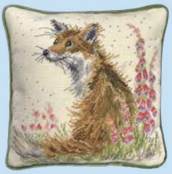 Bothy threads THD08 embroidery Tapestry range - Wrendale Design - Amongst The Foxgloves