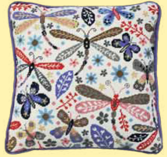 Bothy threads TST01 embroidery Tapestry range - Suzy Taylor - Dragonfly