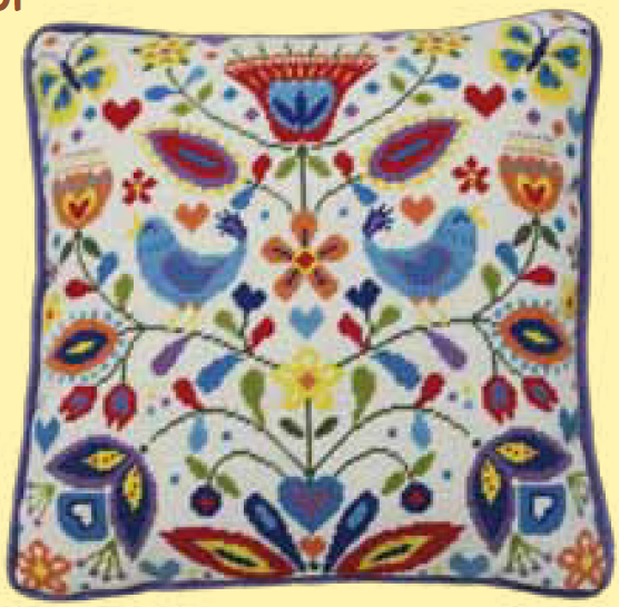 Bothy threads TST01 embroidery Tapestry range - Suzy Taylor - Summer Melody
