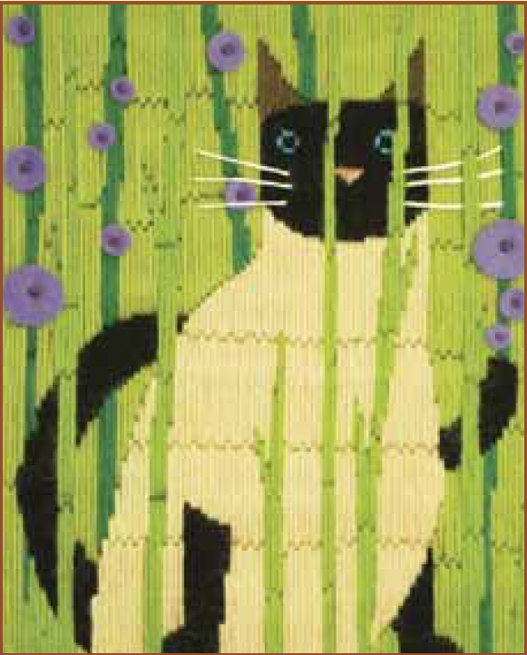 Bothy threads LSC04 embroidery Long stitch range - Funky Cats - Suki