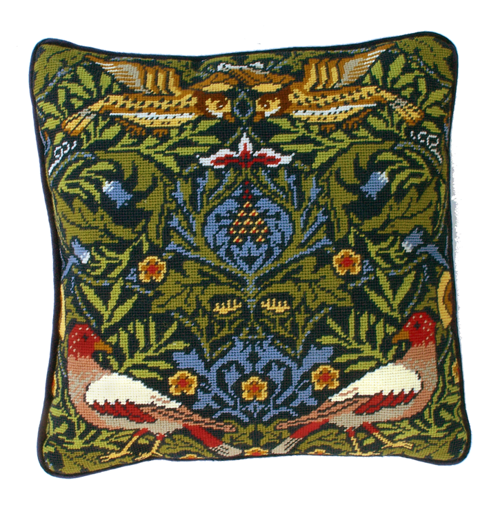 Bothy threads TAC02 embroidery Tapestry range - William Morris - Bird