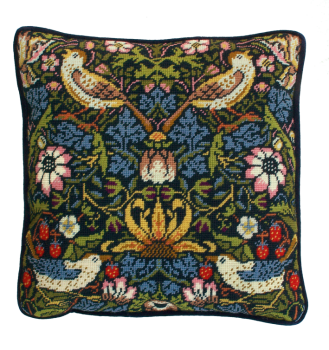 Bothy threads TAC03 embroidery Tapestry range - William Morris - Strawberry Thief