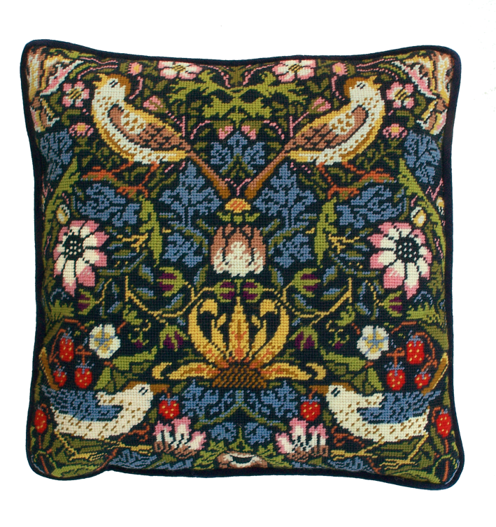 Bothy threads TAC03 embroidery Tapestry range - William Morris - Strawberry