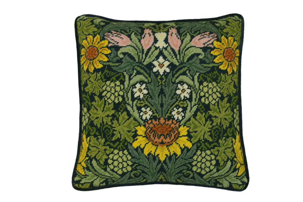 Bothy threads TAC04 embroidery Tapestry range - William Morris - Sun Flower