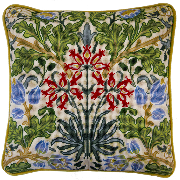 Bothy threads TAC06 embroidery Tapestry range - William Morris - Hyacinth