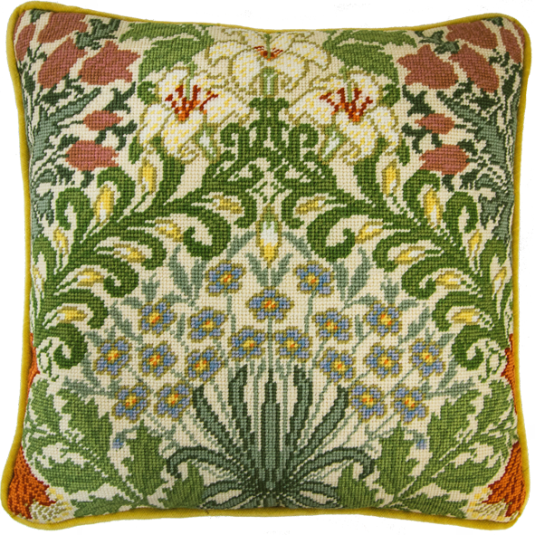 Bothy threads TAC08 embroidery Tapestry range - William Morris - Garden