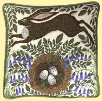 Bothy threads TAP01 embroidery Tapestry range - Catherine Rowe - Spring Hare