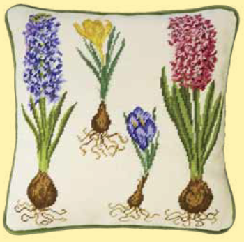 Bothy threads TAP04 embroidery Tapestry range - Traditional and Modern Tapestries - Hyacinth and Crocus