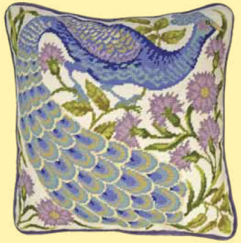 Bothy threads TAP06 embroidery Tapestry range - Traditional and Modern Tapestries - Peacock