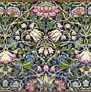 Bothy threads XAC05 embroidery counted cross stitch range - William Morris - Bell Flower