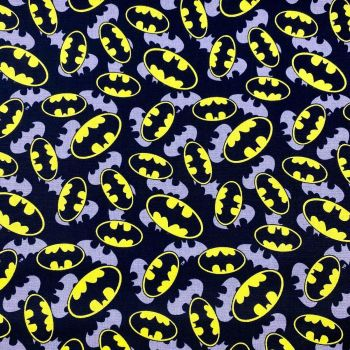 Batman logo Fabric 100% cotton