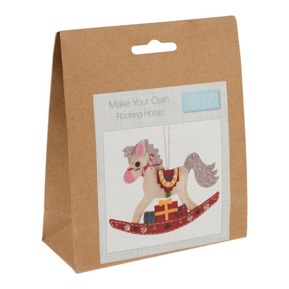 Felt kit make your own rocking horse  by Trimits