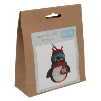 Felt kit make your own felt penguin  by Trimits