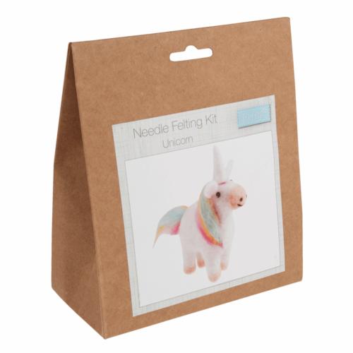 Needle Felting Kit unicorn by trimits