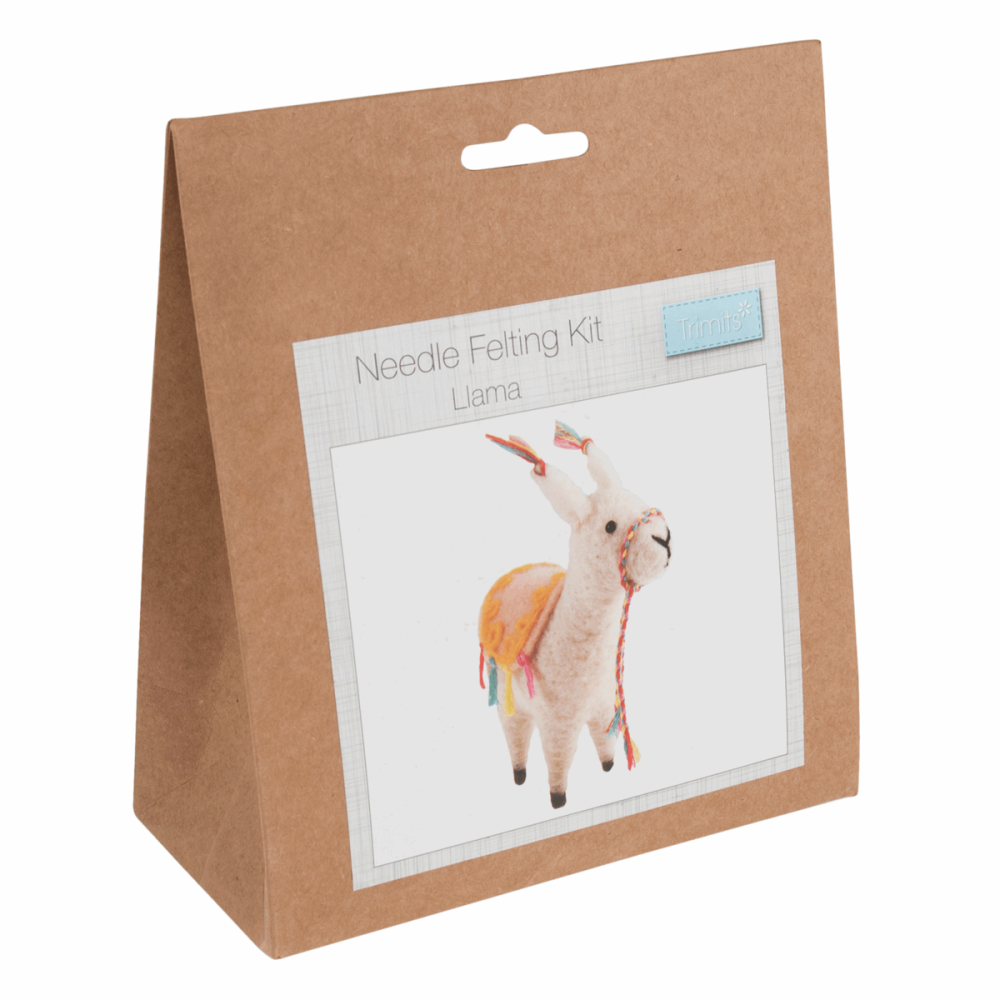 Needle Felting Kit Llama by trimits