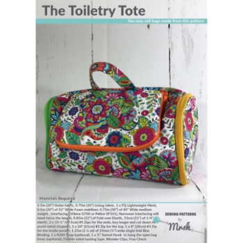 Mrs H bag pattern The toiletry tote