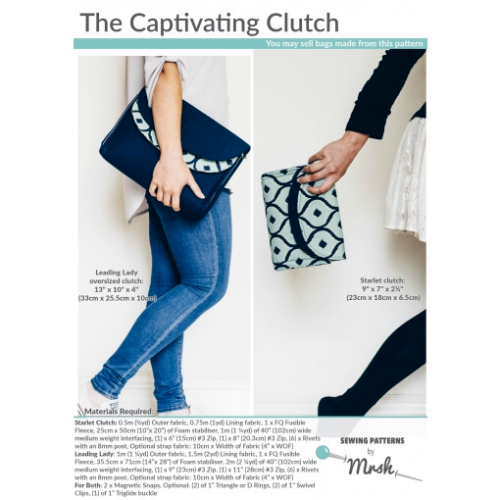 Mrs H bag pattern The captivating clutch